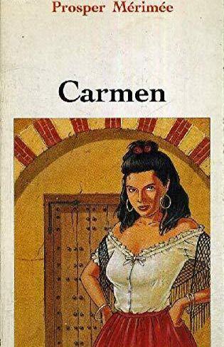 Portada del libro 'Carmen', de Prosper Merimeé.