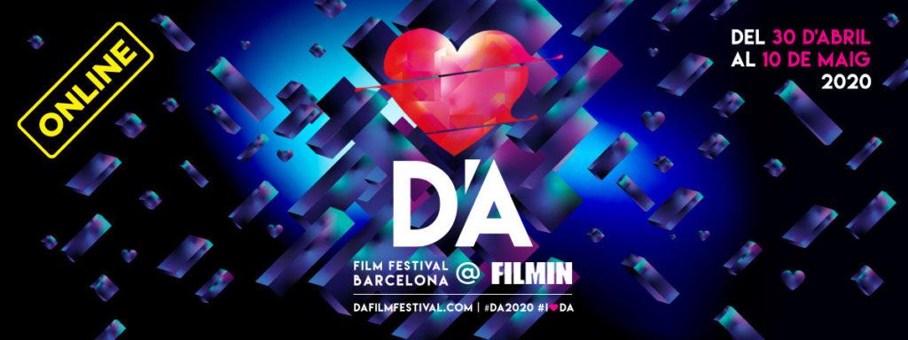 Promocional del festival D'A del año 2020.