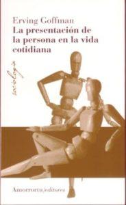Libro 'La presentación de la persona en la vida cotidiana'