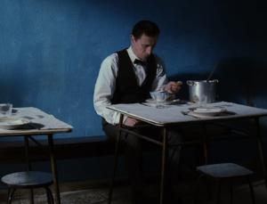 Fotograma del cortometraje 'O Tasqueiro', del cineasta finlandés Aki Kaurismäki.