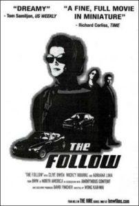 Cartel del cortometraje 'The Follow'
