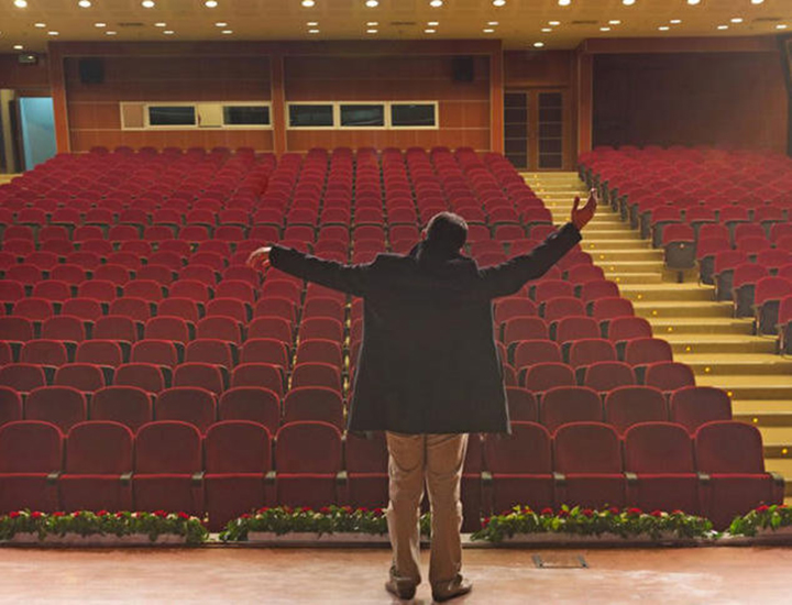 Teatros vacíos por Coronavirus