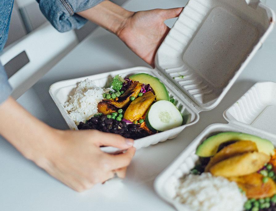 El delivery en el mundo de la gastronomía.