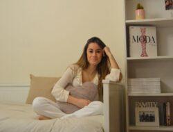 Paula Pastor en su habitación