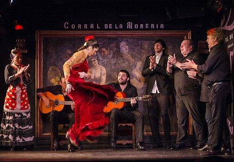 Actuación en el Tablao Flamenco El Corral de la Morería