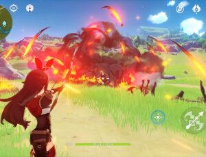 Portada y visión del videojuego Genshin Impact