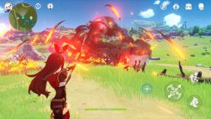 Visión del videojuego Genshin Impact
