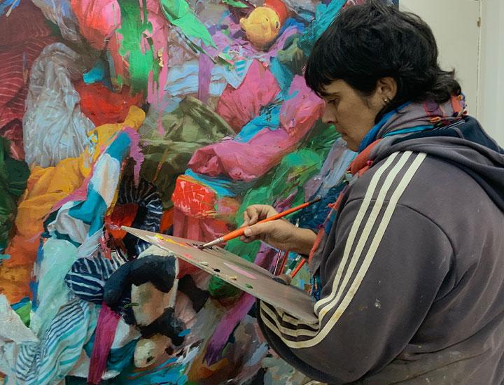 Pintora Irene Cuadrado