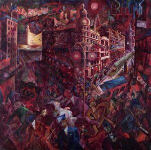 Metrópolis, 1916-1917. George Grosz