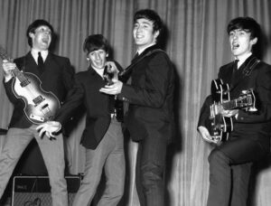 THE BEATLES EN SU JUVENTUD