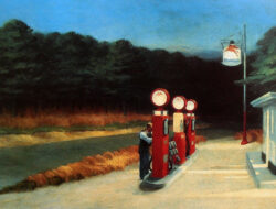 GAS STATION 1940 EDWARD HOPPER