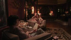 eth Harmon y Alma Wheatley en ell Hotel Aztec Palace de Ciudad de México