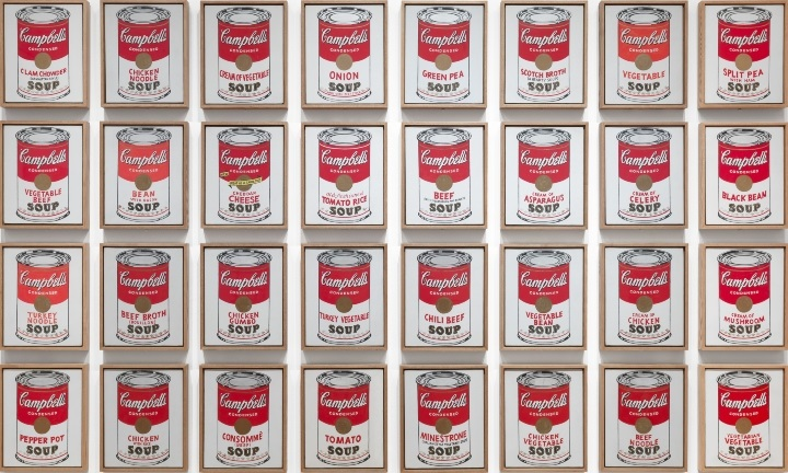 Campbell's Soup Cans Warhol