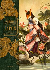 Portada Espíritus y criaturas de Japón Lafcadio Hearn Benjamin Lacombe