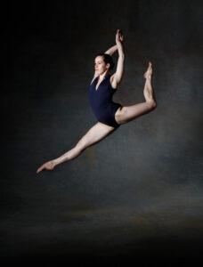 Sofía Klein bailando