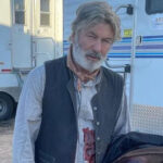 Alec Baldwin en el set de rodaje de 'Rust'